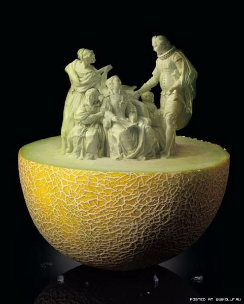 Резьба по фруктам