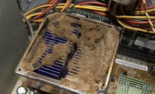 Пыль и компьютер