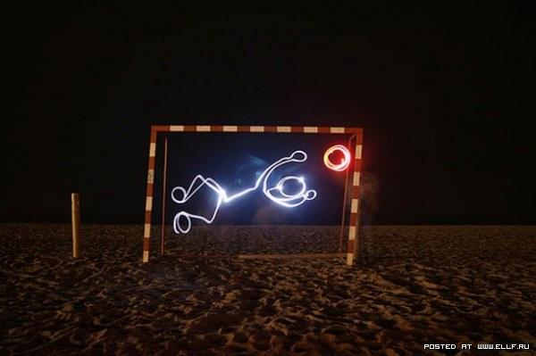Световые следы