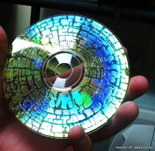 CD в микроволновке