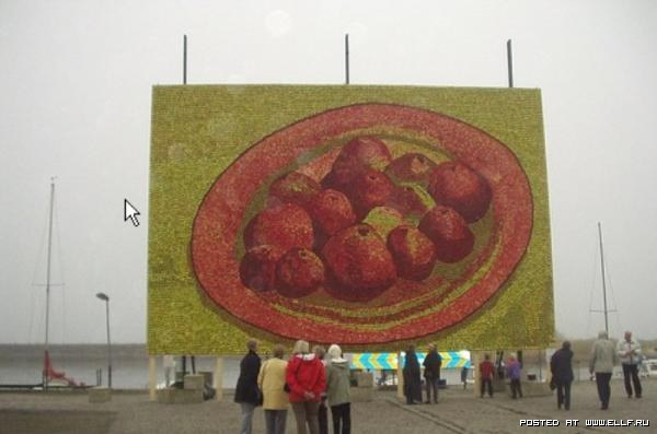 Яблочный креатив
