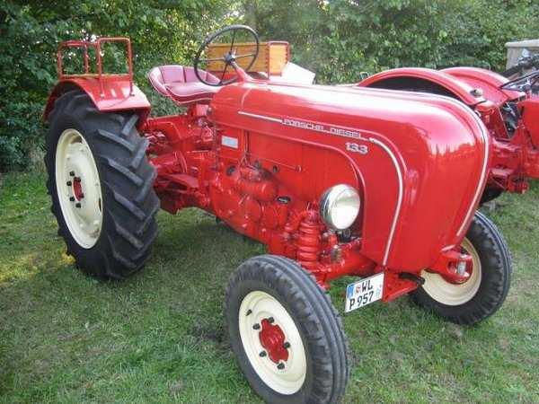 Трактор от Porshe