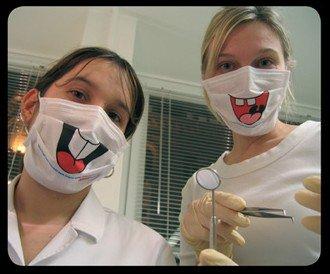 Забавные маски для стоматологов