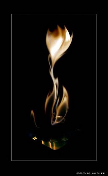 Ожившее пламя