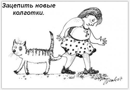 Обязаности кошки в доме