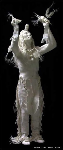 Бумажные скульптуры