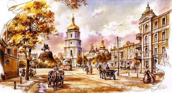 Картины художника Сергея Брандта