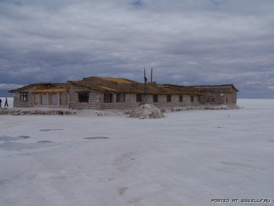 Отель из соли
