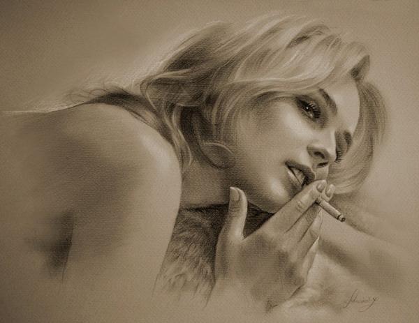 Рисунки карандашом