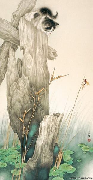 Японский художник Mi Chunmao