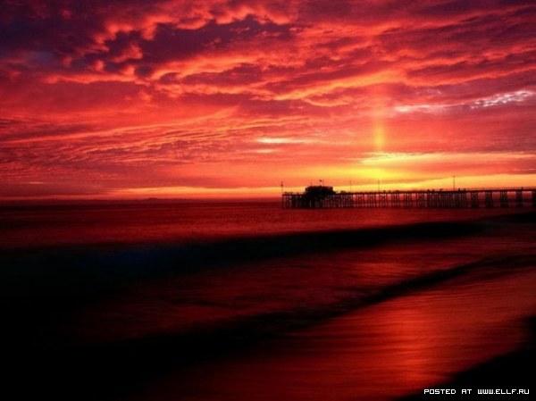 Красивые закаты