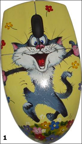 Мышки под хохлому