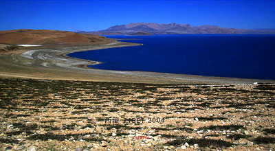 Удивительные озёра Тибета