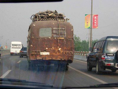 Что творится на дорогах Китая