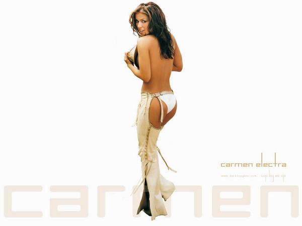 Красивые и знаменитые <<Carmen Elektra>>