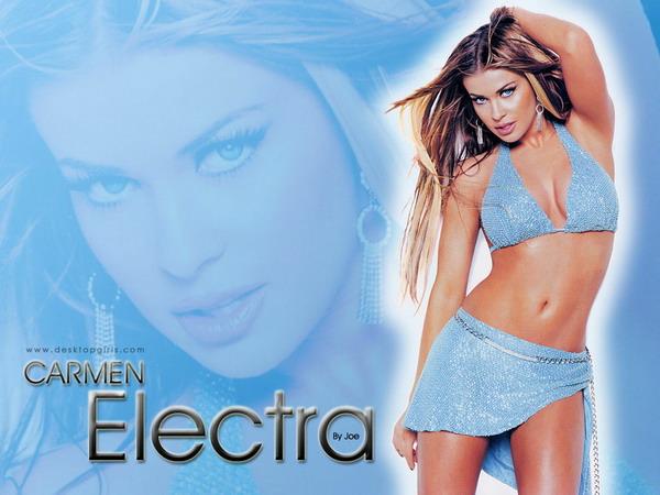 Красивые и знаменитые «Carmen Electra»