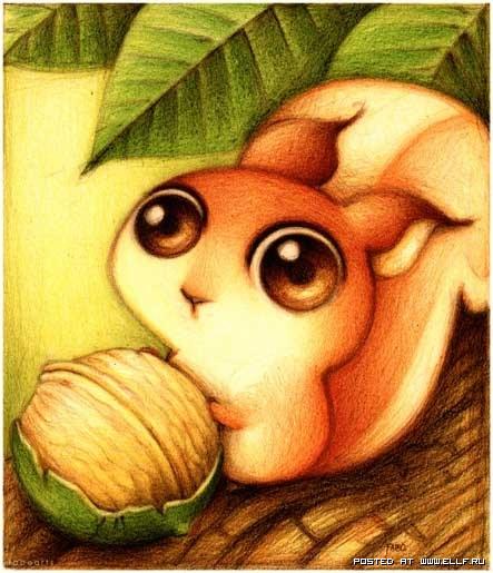 Красивые рисунки животных