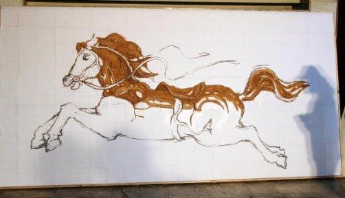 Лошадь - зубочистка