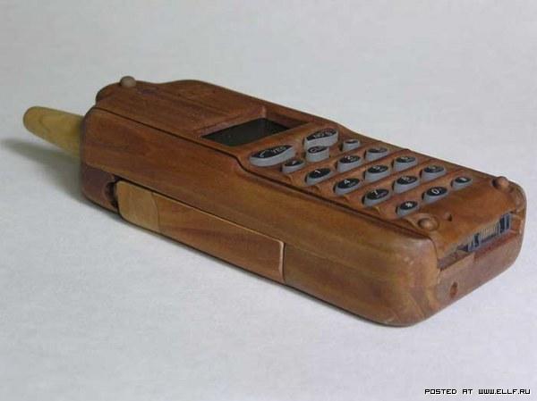 Деревянная мобила