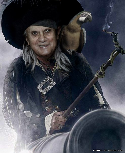 Хорошо быть пиратом...