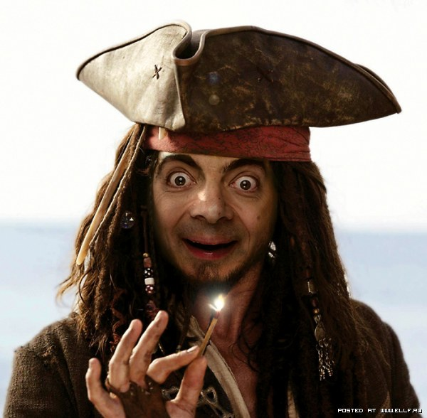 смайлик пират: