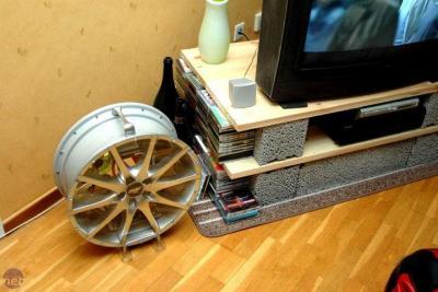 Компьютер в колесе