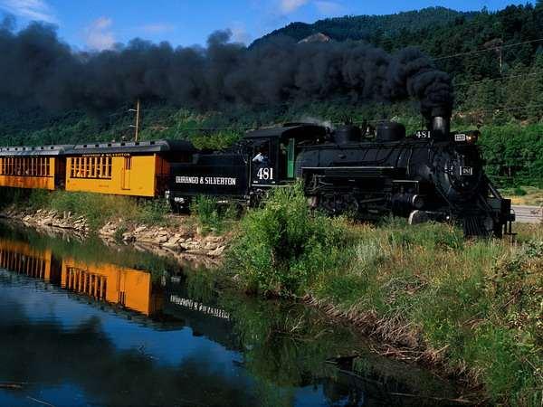 Старинные поезда