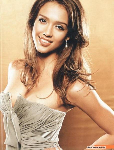 Красивые и знаменитые «Джесика Альба»
