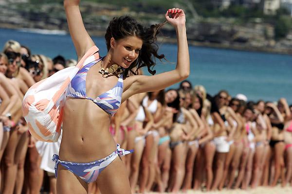 Мировой рекорд бикини