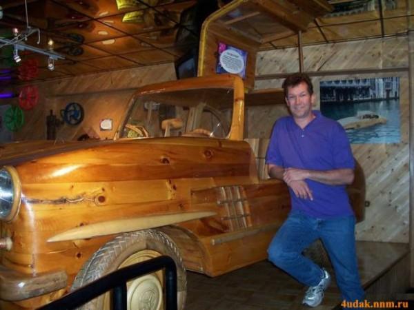 Деревянные авто.