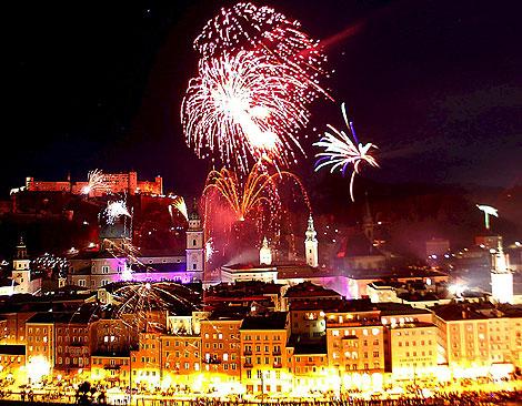 Новогодний Зальцбург (Австрия).