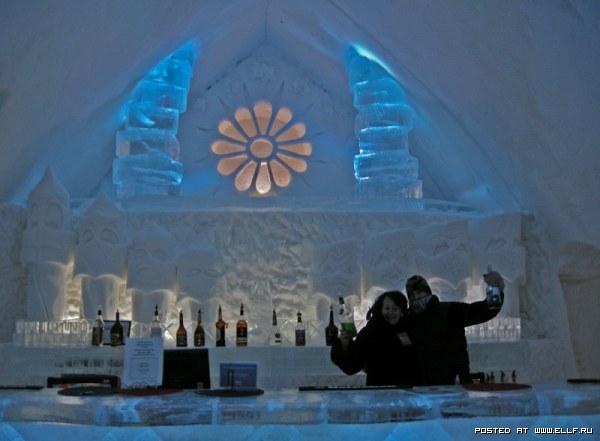 Канадский ледяной отель
