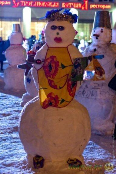 Парад снеговиков в Перми!