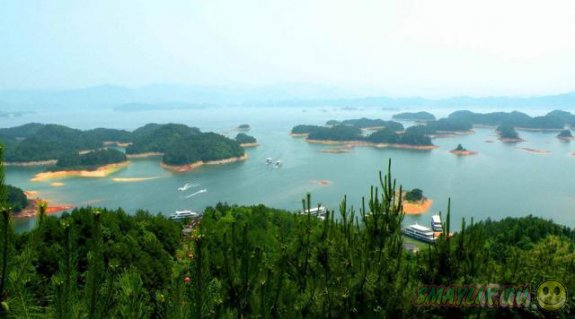 Озеро тысячи островов