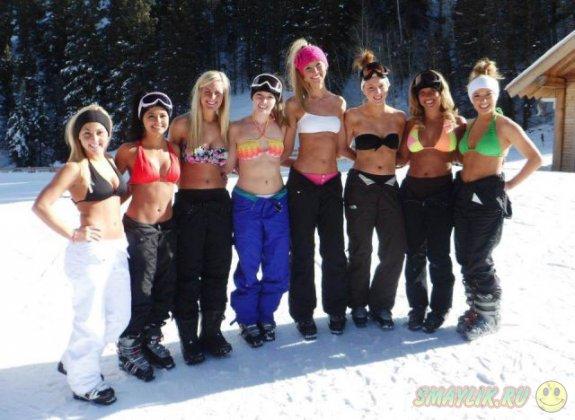 Девушки, которым не холодно