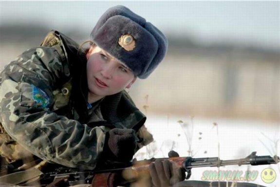 Девушек могут призвать на срочную службу в армию