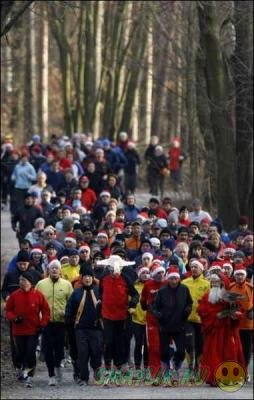 В Германии начали бороться с результатами рождественского переедания