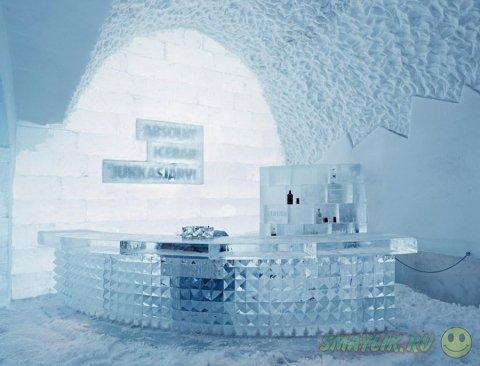 Швеция:  Отель из снега и льда