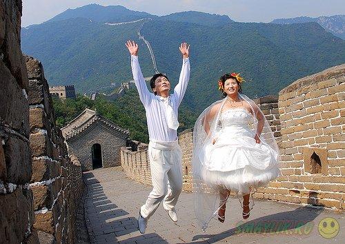 Миллионы влюбленных китайцев заключили брак 4 января