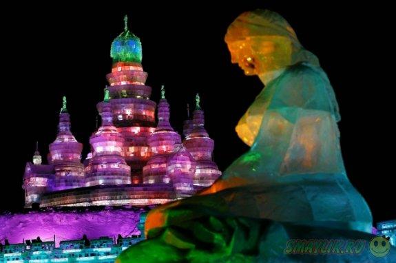 В Харбине проходит фестиваль снега и льда
