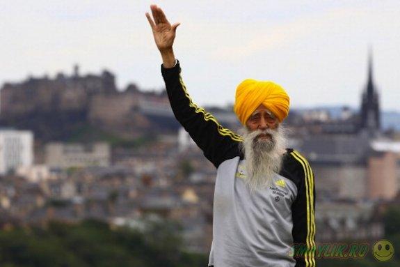 В  Великобритании 101-летний марафонец решил уйти из большого спорта