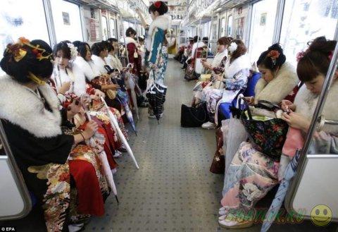 В Японии отметили День Совершеннолетия
