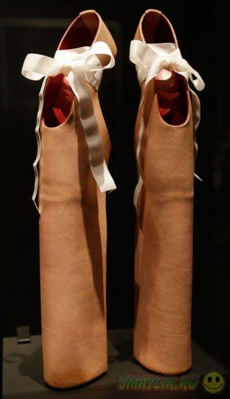 В Нью-Йорке пройдет выставка самых  неординарных туфель