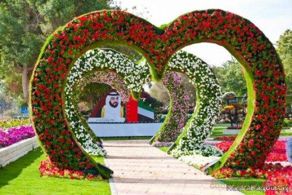 Dubai Miracle Garden – открылся самый большой в мире парк цветов