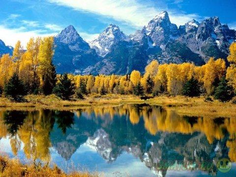 Чарующие краски Grand Teton National Park