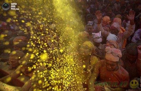 «Фестиваль красок» — один из самых популярных праздников  в Индии