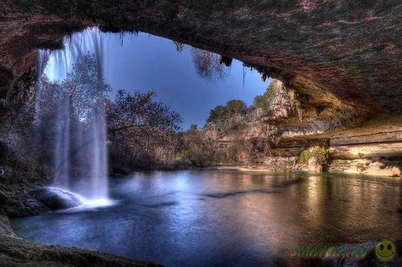 Пейзажи картинки водопады природа рыбы
