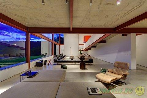 Nova Lima - особняк спроектированный для созерцания окружающей красоты природы