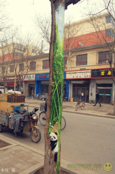 Необычная галерея работ художницы Ван Юэ