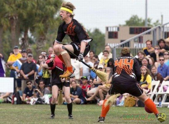 Во Флориде состоялись соревнования по квиддичу